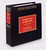 Criminal Law in New York